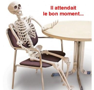 Squelette il attendait que ca change copie